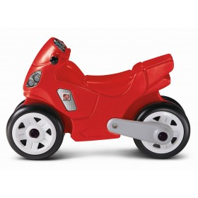 Red Motorcycle Step2