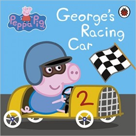 Peppa Pig: Georges Racing Car Board book