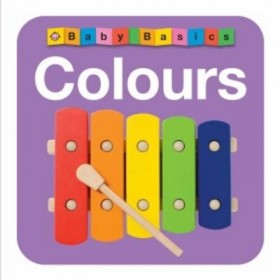 Colours Baby Basics By Priddy Books (Board Book)