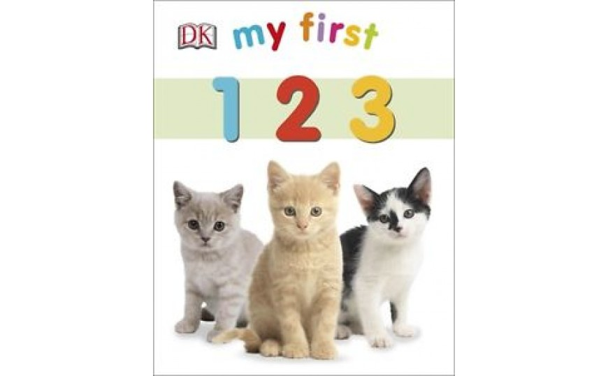 My First 123 by DK (Board Book)