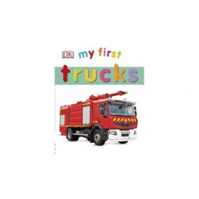 My First Trucks by DK (Board Book)