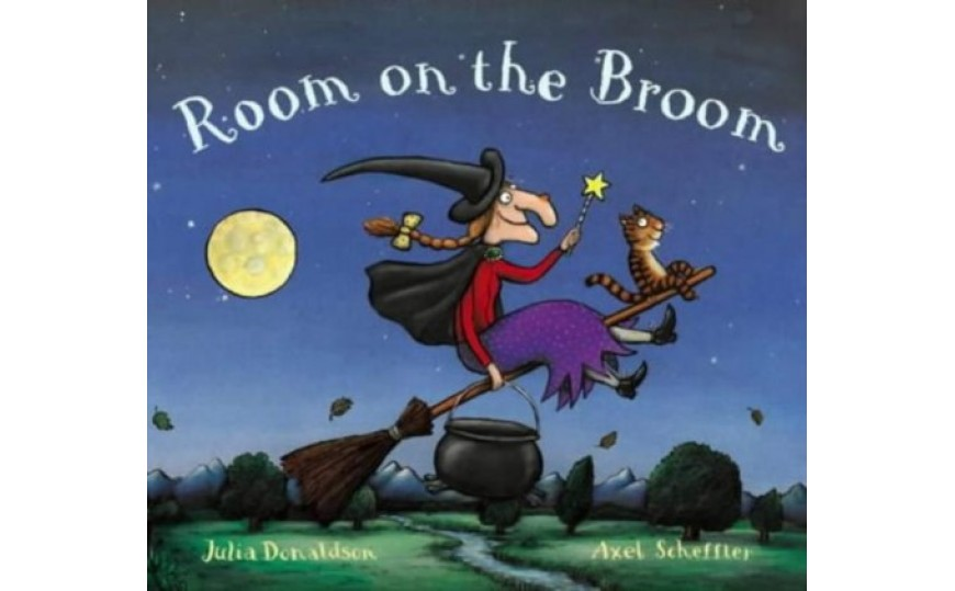 Kids Picture Books Room On The Broom 9780333903384