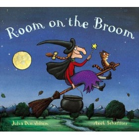 Room on Broom by Julia Donaldson (Board Book)