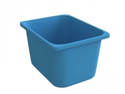 Throwin Storage Bins Big - Blue