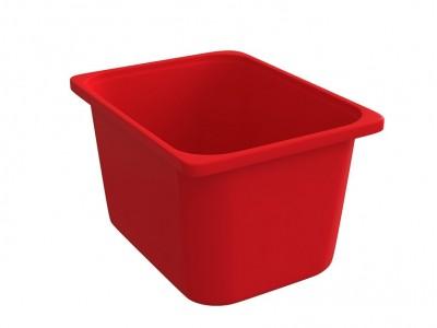 Throwin Storage Bins Big - Red