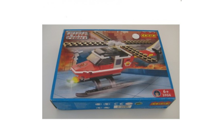 COGO Police Action Blocks Building Set for Kids Ages 6+ Years  #3409