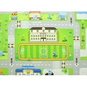 BeBe Dom Playmat RUN To TOWN - Small