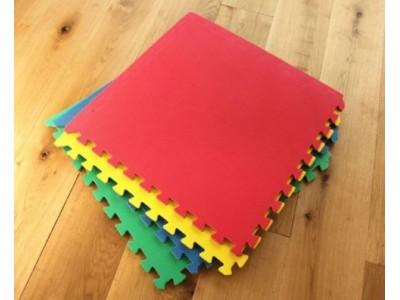 Colorful Eva PlayMats / Kid / Toddler / Mat (Set of 4 Pcs)