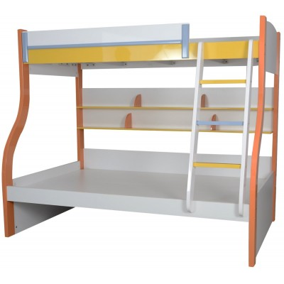 Kevin Multicolor Bunk Bed for Kids with 2 Beds