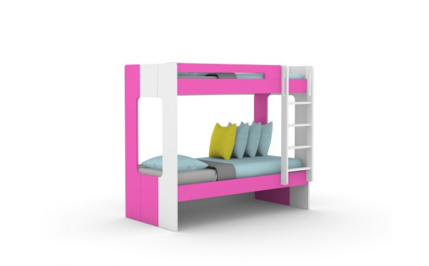 Molly Kids Pink Bunk Bed