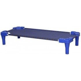 Stackable Bed For Daycare - Blue ( 4 pcs)