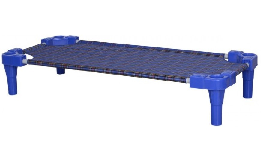Stackable Daycare Beds - Blue ( 6 pcs)