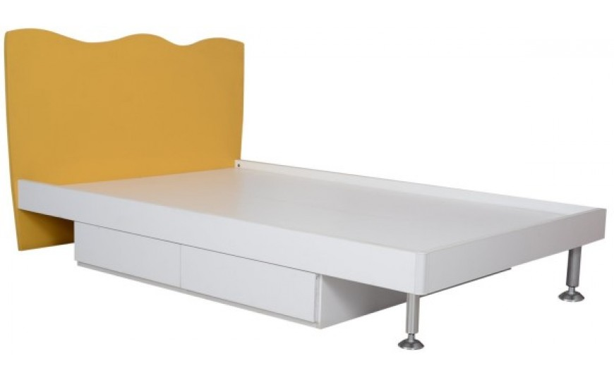 Summer Yellow Kids Twin Bed