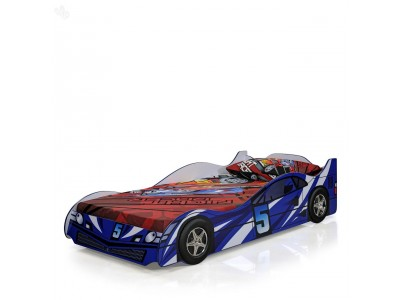 Racer Blue Car Bed for Kids