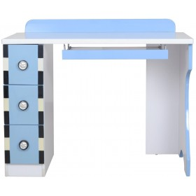 Wheely Blue Study Table for Kids