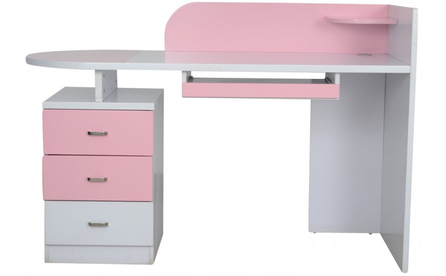 Buy Elsie Pink Study Table For Girls Online Kids Kouch India