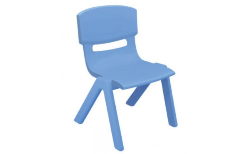 Plastic Chair for Kids - Blue