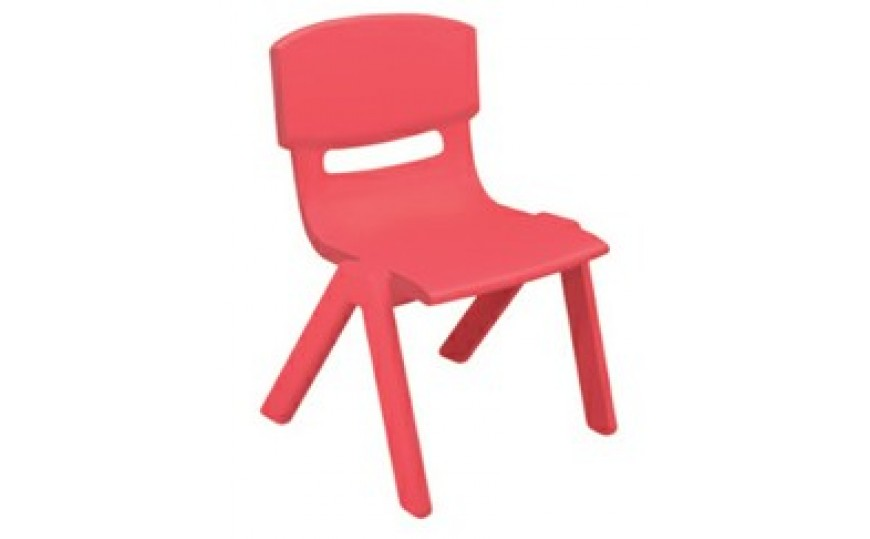 Plastic Chair for Kids - Red