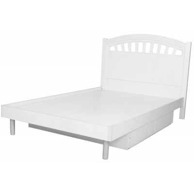 Blanc Victorian White Kids Twin Bed