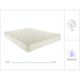 "Restolex Comforpedic 5"" Coir Mattress - QUEEN"