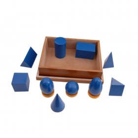Montessori Materials-Geometrical Solids