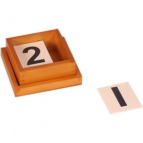 Montessori Materials-Cards for Number Rods