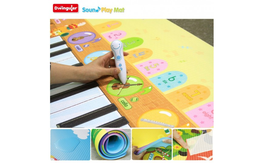 Buy Dwinguler Playmat Music Parade Online At Kidskouch India