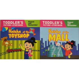 Naisha Series  (Toddler's Picture Story Book) Complete Set of 2 Books