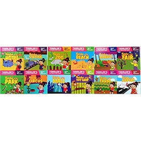 Naisha Series  (Toddler's Picture Story Book) Complete Set of 12 Books