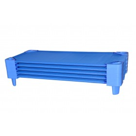 Stackable Daycare Cots - Blue (5 pcs)