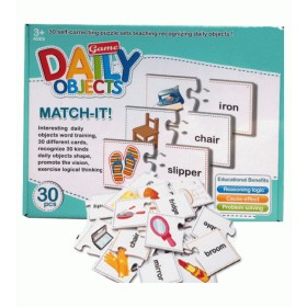 Match It Puzzle Daily Objects - 55158