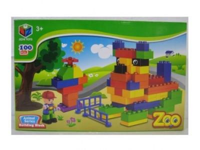 Zoo Animal Series Blocks Kids Toy