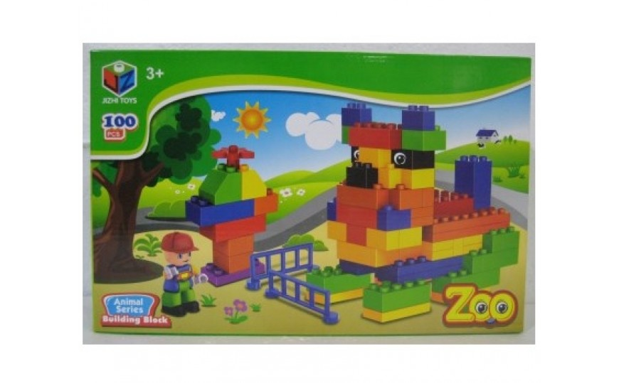 Zoo Animal Series Blocks Kids Toy