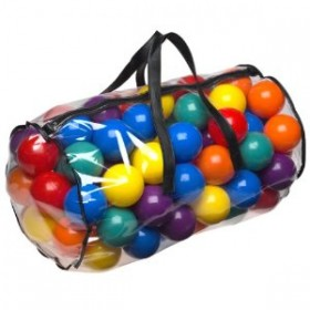 Colorful Soft Plastic Balls for Ball Pools (100 pcs)