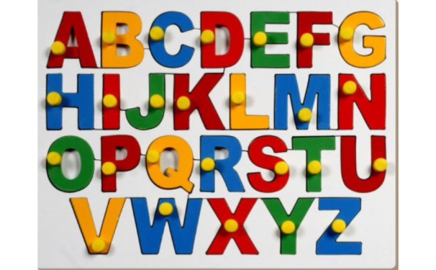 Capital Alphabets with Knob