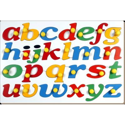 Little Genius AL63 - Jumbo Cursive Alphabets with Big Knobs