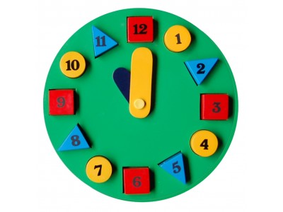 Little Genius BC09 Circular Green Learning Clock