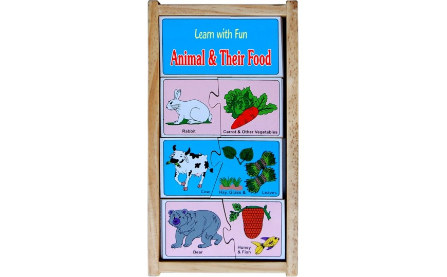 Little Genius Animals & Their Food -LF08