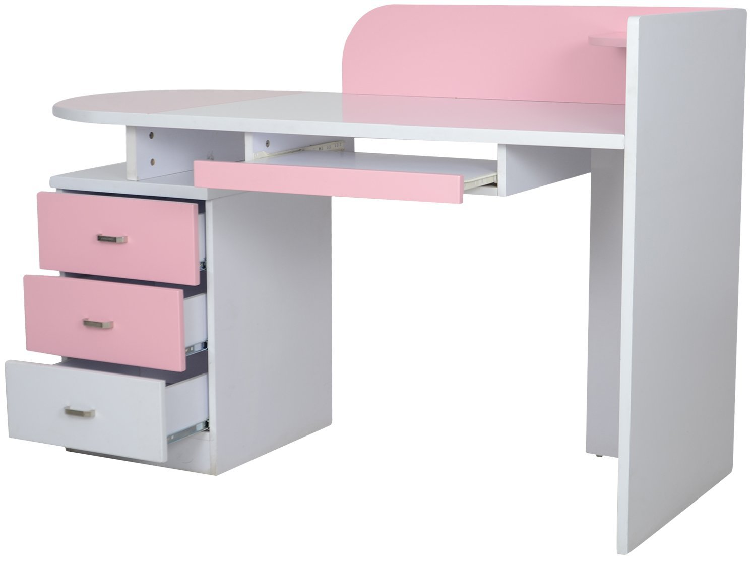 Bon Elsie Pink Study Table For Girls