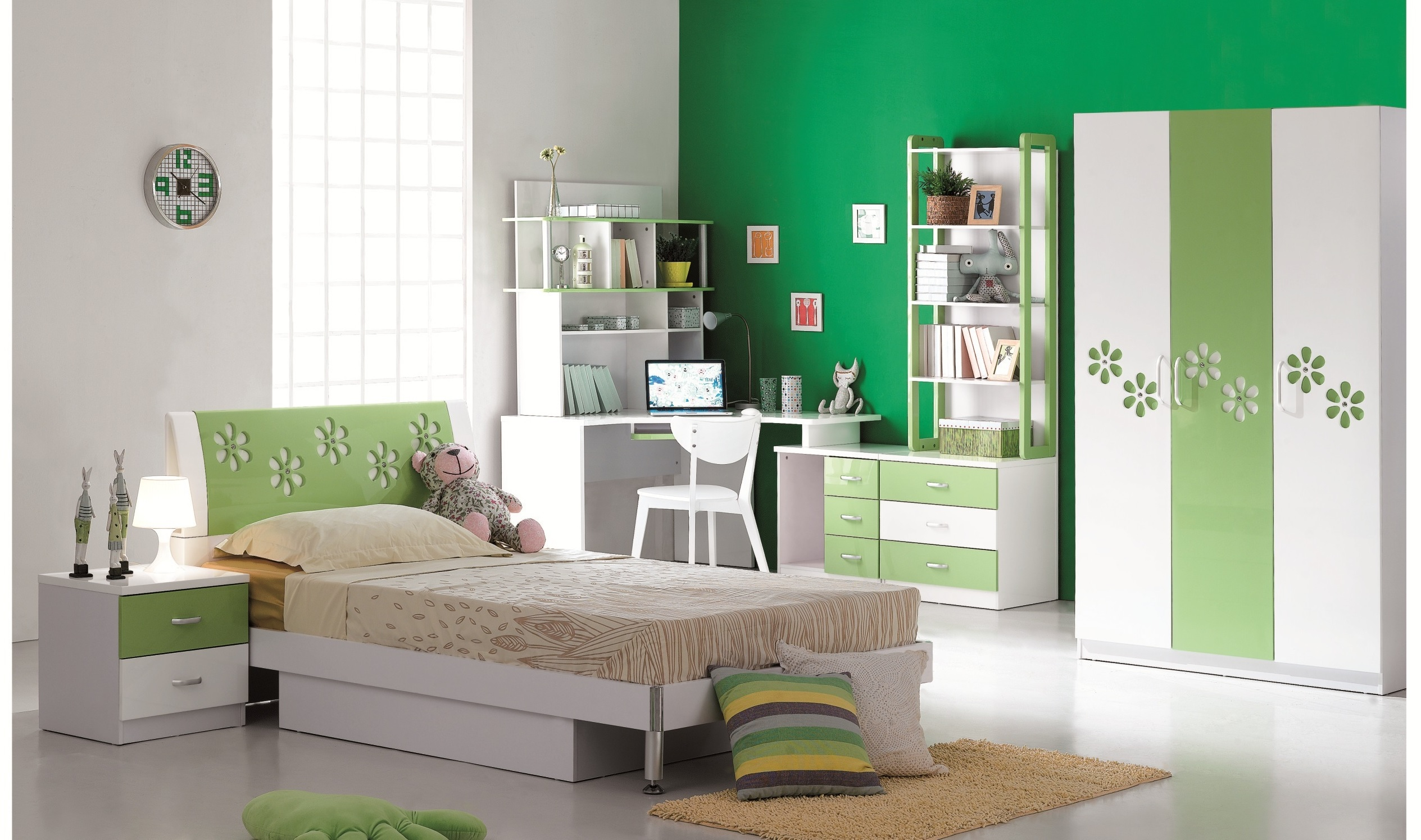 Buy pink floral wardrobe for kids online on kidskouch india for Bedroom cabinet designs india