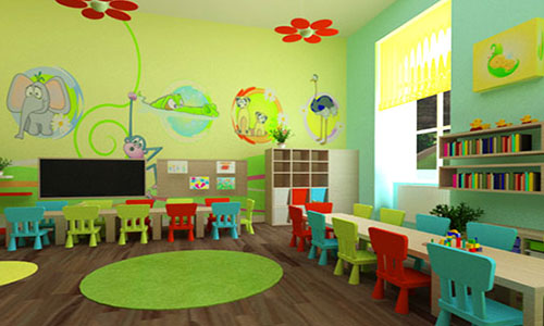 classroom furniture and Montessori materials