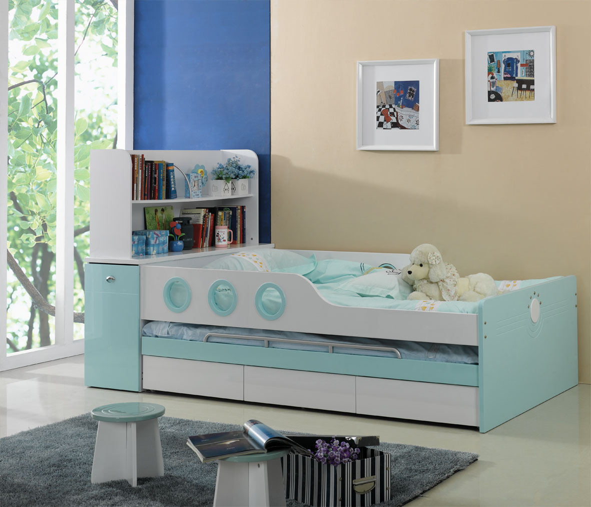 timeless design 26941 89de1 Buy Kids Beds online at Kids Kouch India | Beds for kids